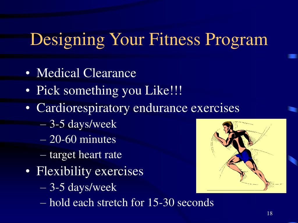 Designing Your Fitness Program