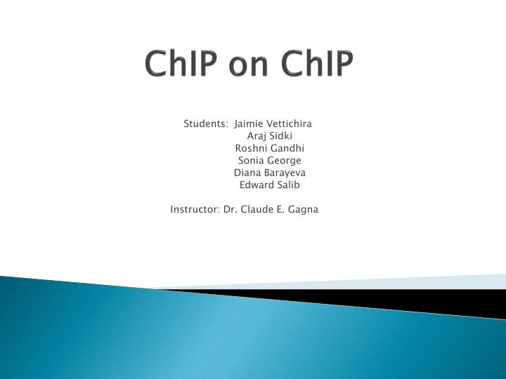 Chip on chip