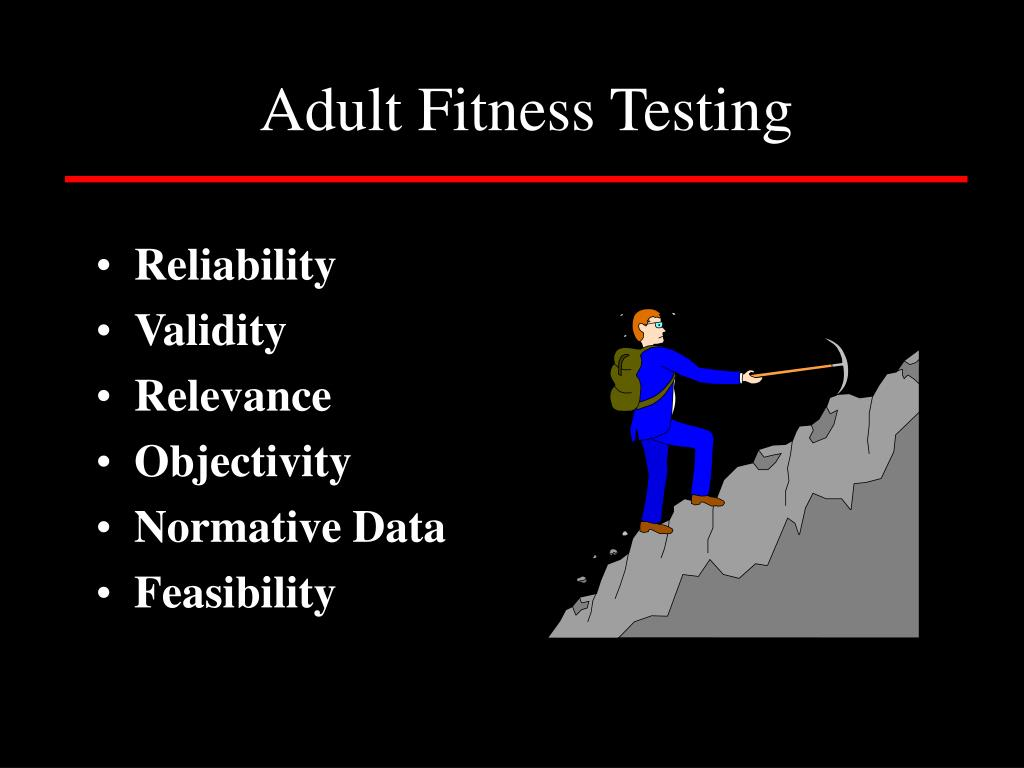 Adult Fitness Testing