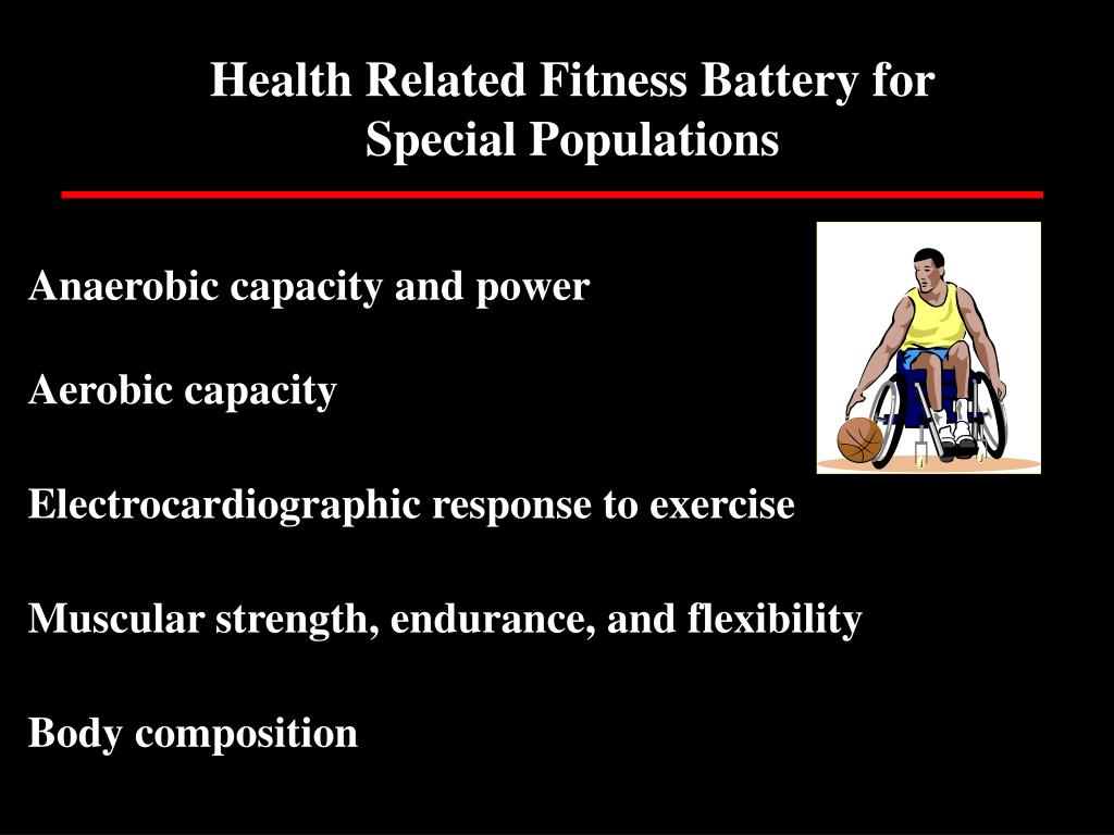 Health Related Fitness Battery for