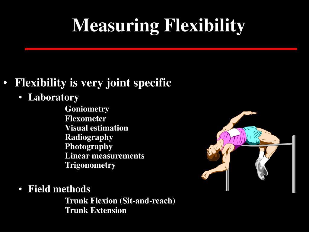 Measuring Flexibility