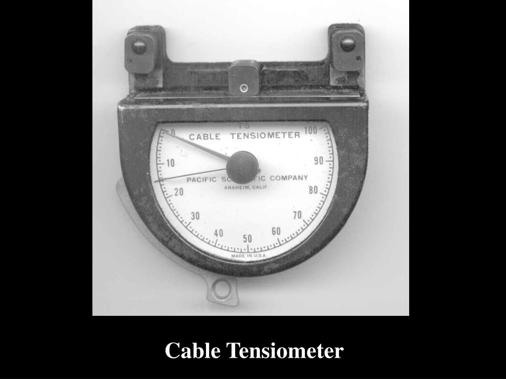 Cable Tensiometer