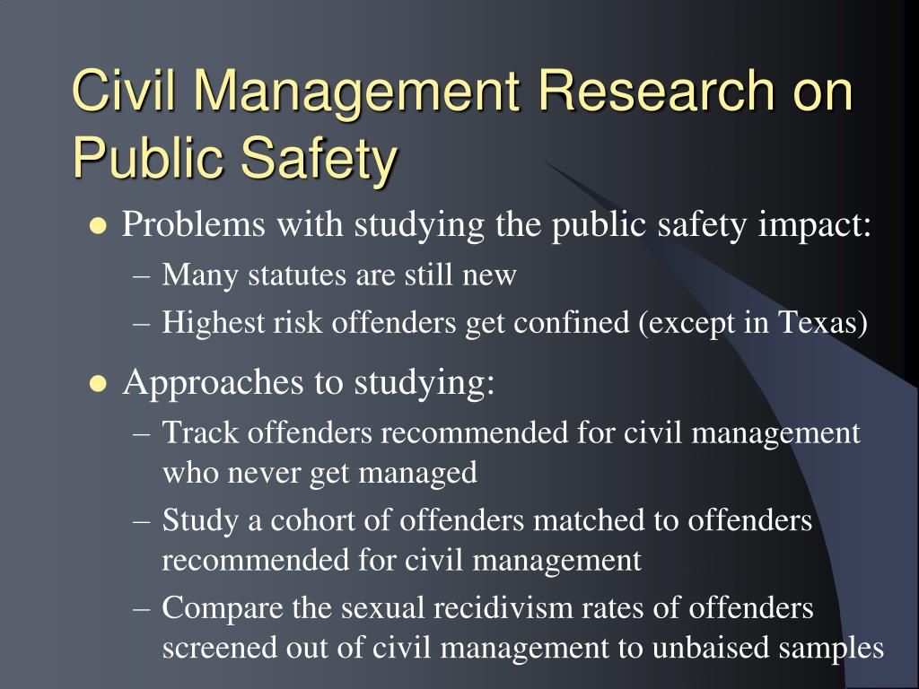 Civil Management Research on Public Safety