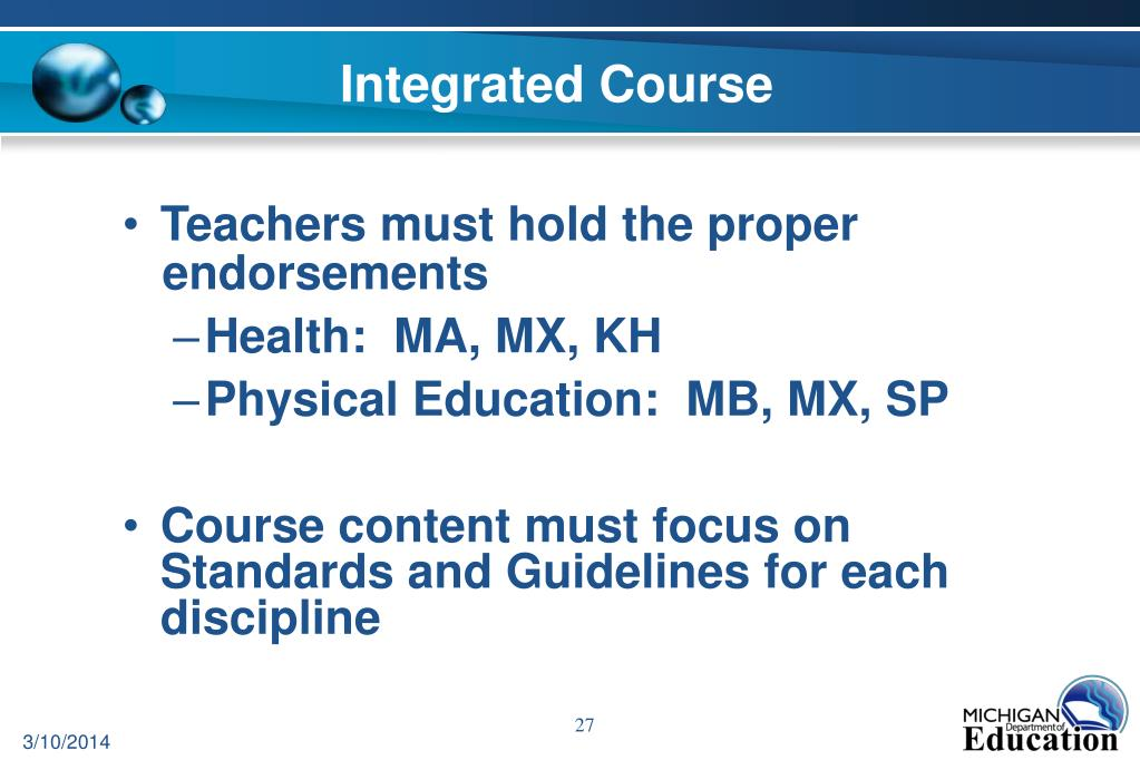 Integrated Course