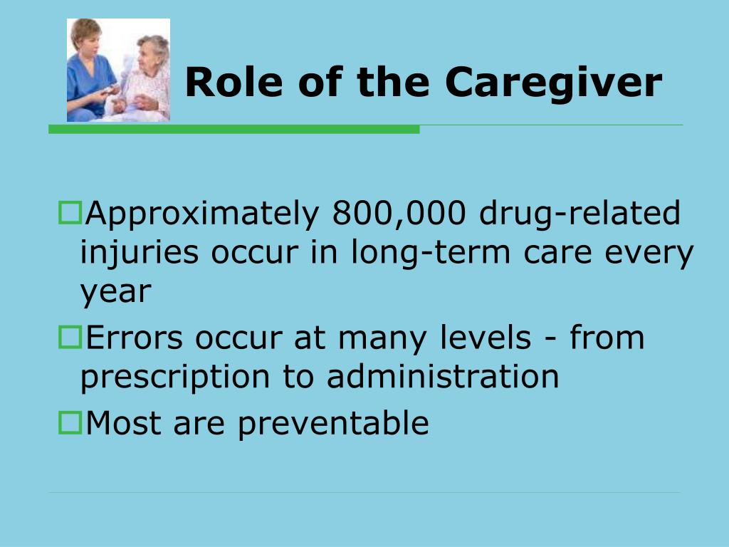 Role of the Caregiver