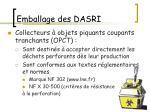 emballage des dasri8