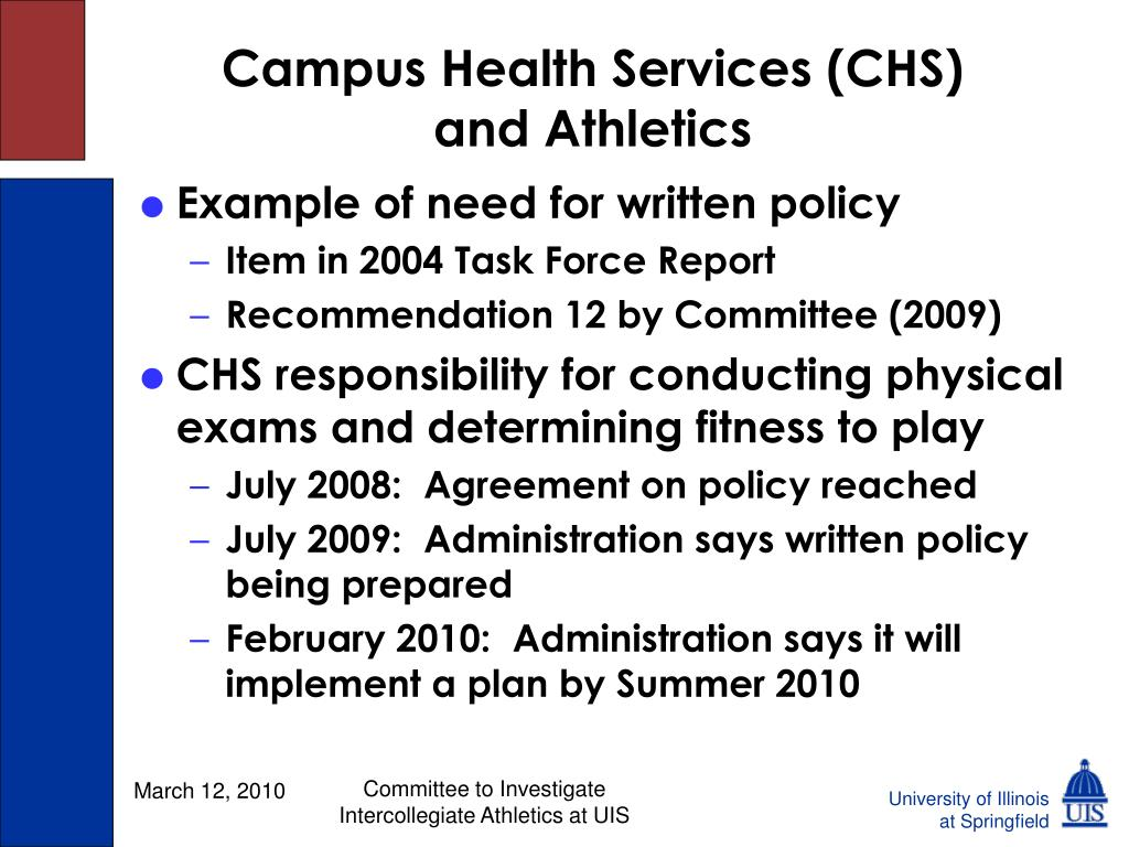 Campus Health Services (CHS)
