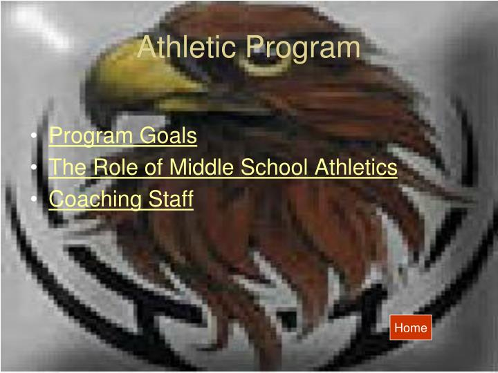 Athletic program
