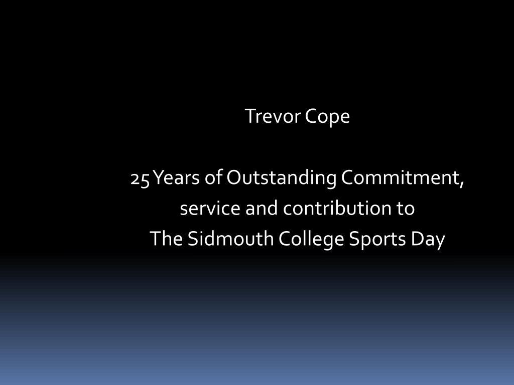 Trevor Cope