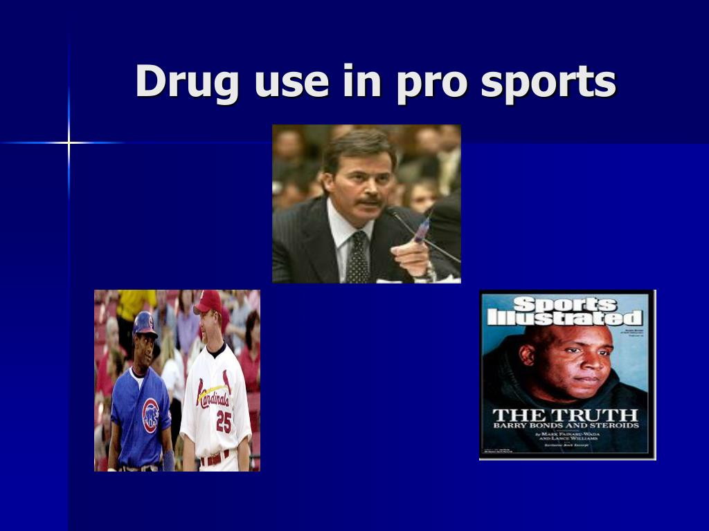 Drug use in pro sports