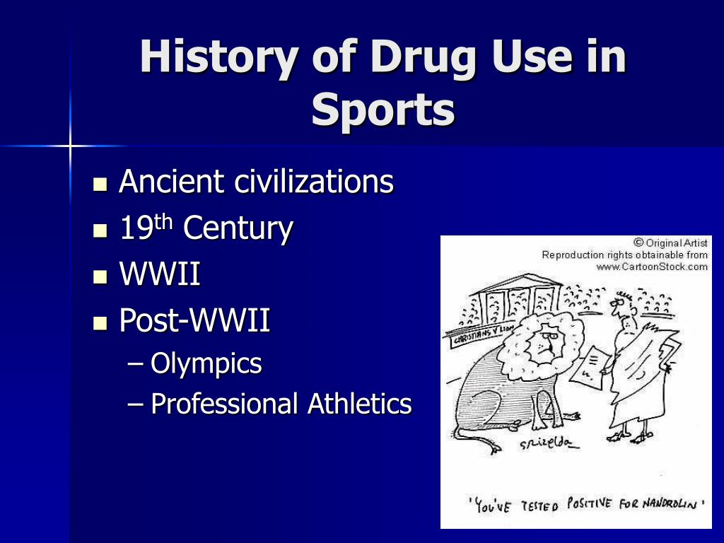 History of Drug Use in Sports
