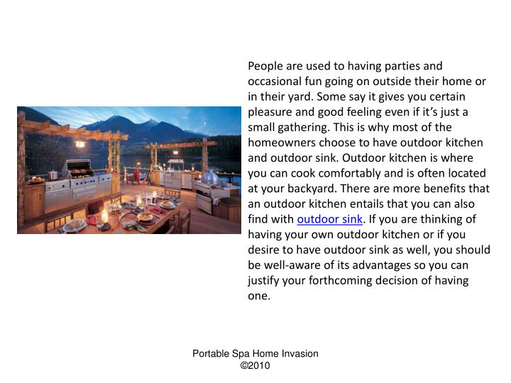 People are used to having parties and occasional fun going on outside their home or in their yard. S...