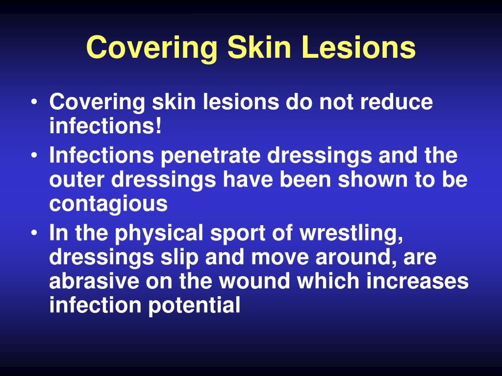 Covering Skin Lesions