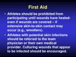 first aid67