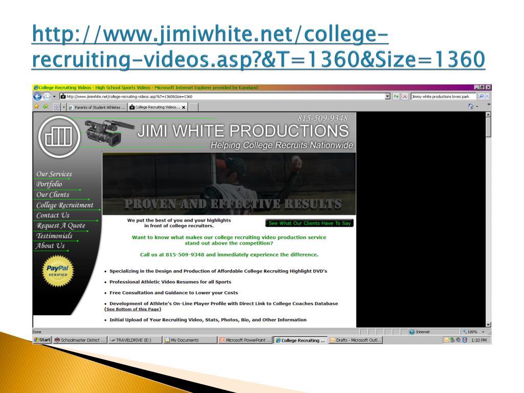 http://www.jimiwhite.net/college-recruiting-videos.asp?&T=1360&Size=1360