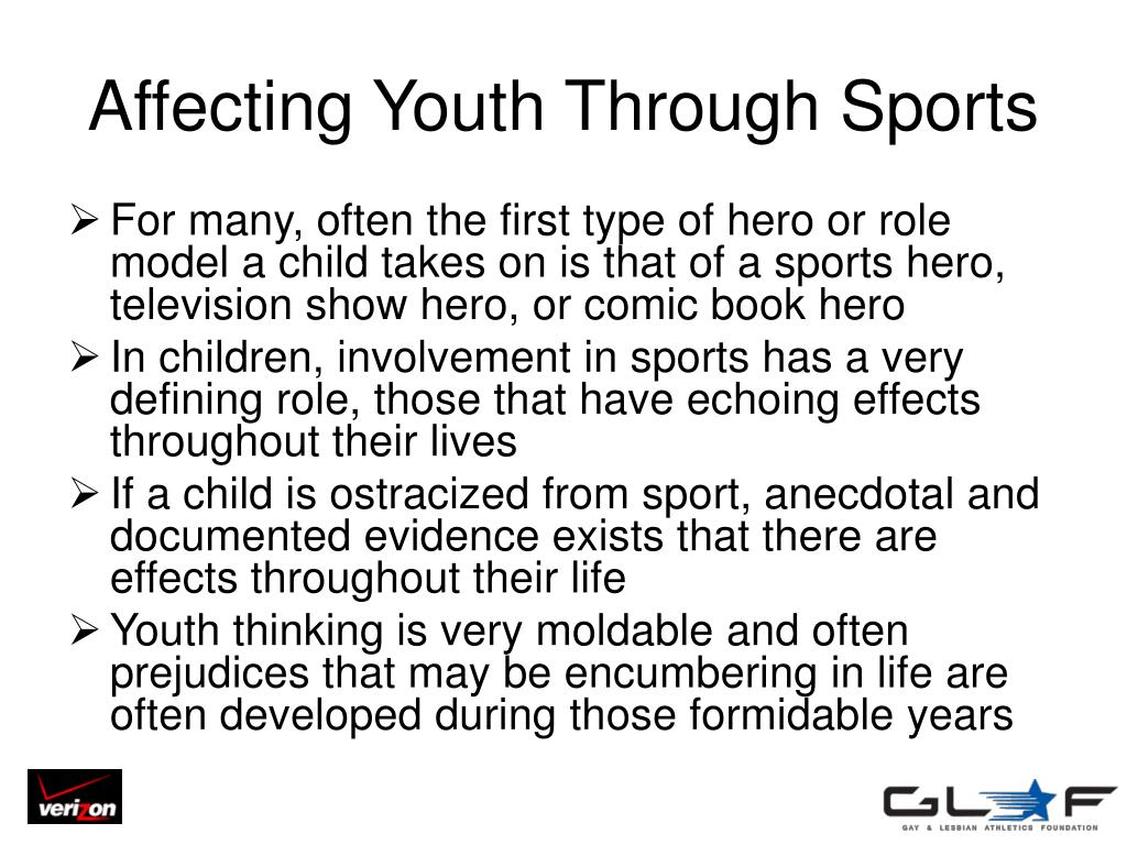 Affecting Youth Through Sports
