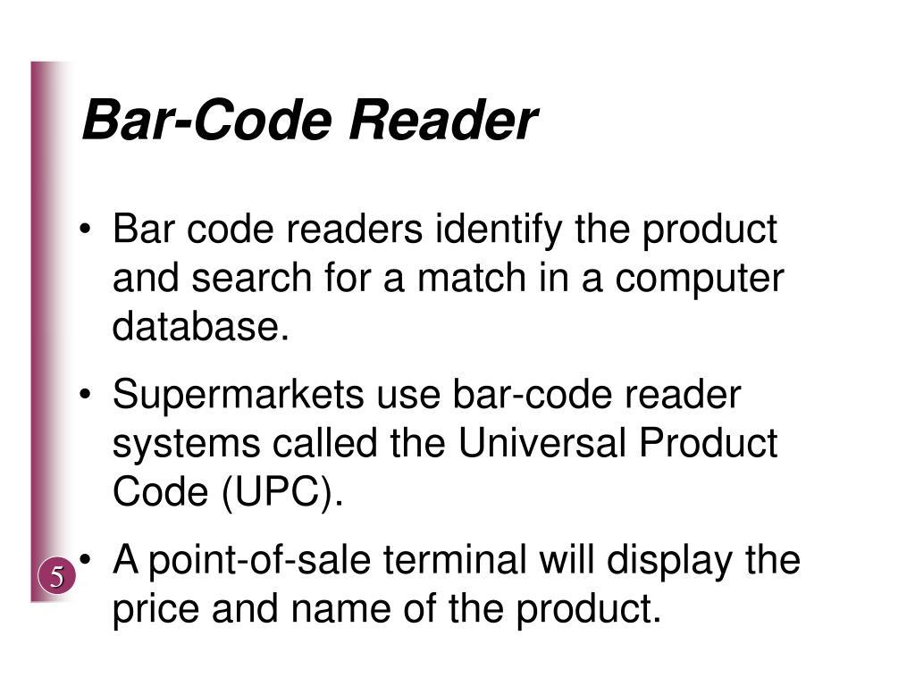 Bar-Code Reader