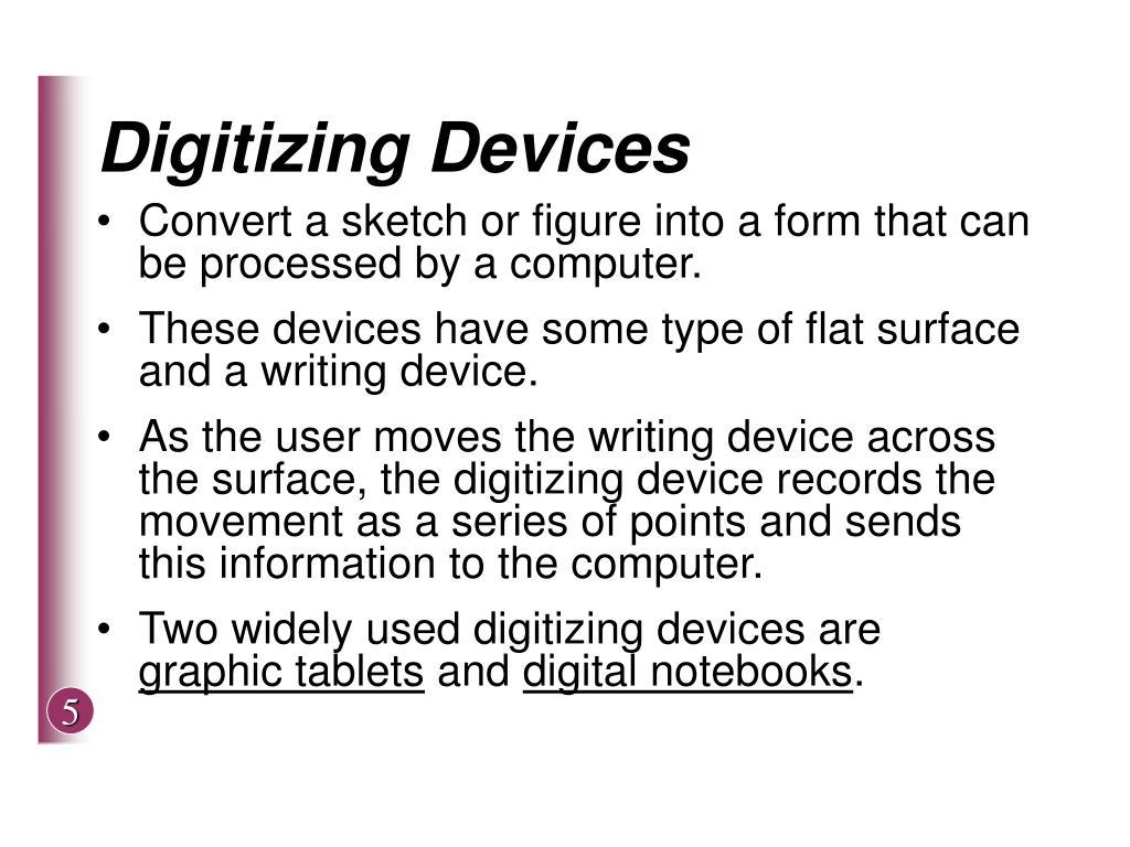Digitizing Devices