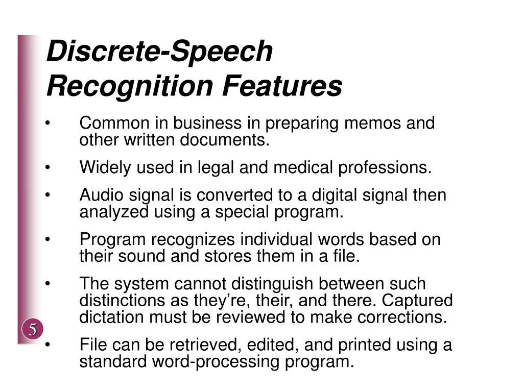 Discrete-Speech