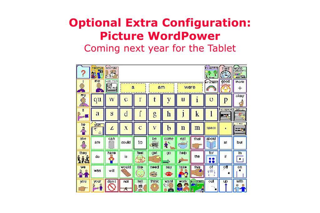 Optional Extra Configuration: