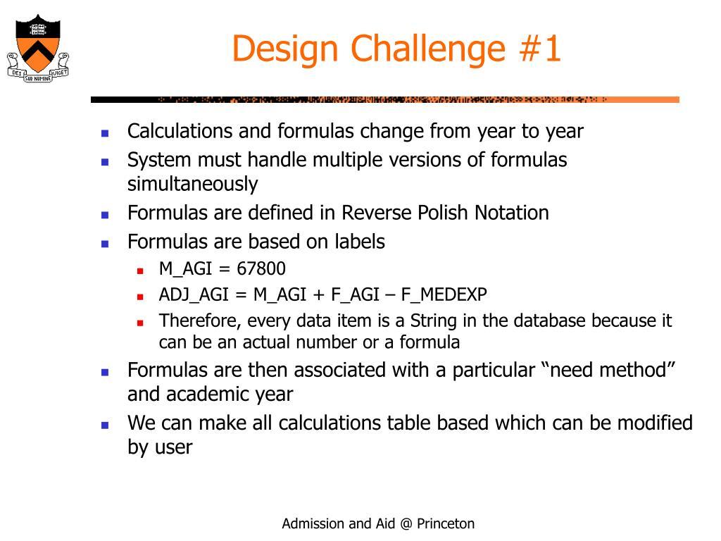 Design Challenge #1