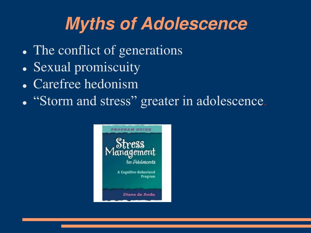 Myths of Adolescence