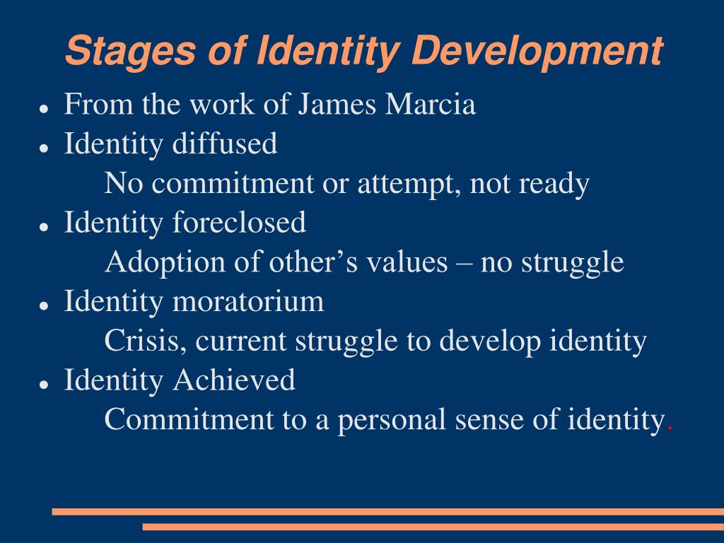 Stages of Identity Development