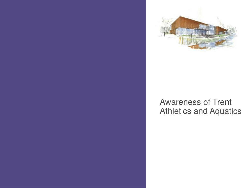 Awareness of Trent Athletics and Aquatics