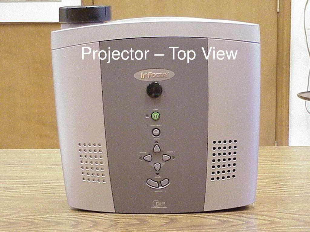 Projector – Top View