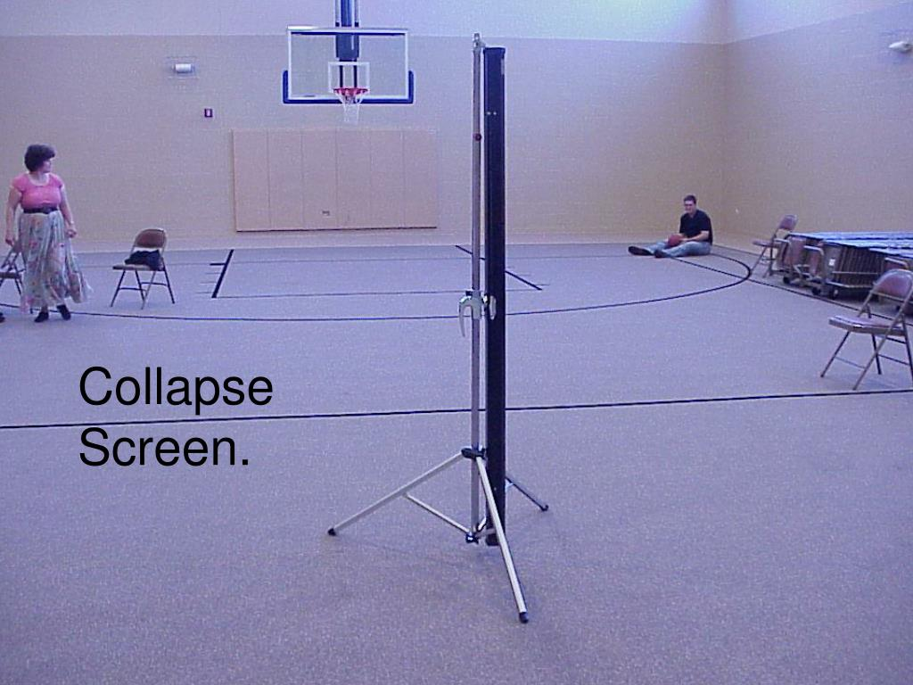 Collapse Screen.