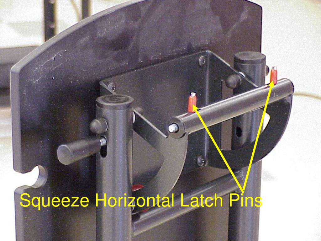 Squeeze Horizontal Latch Pins
