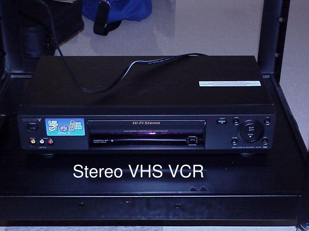 Stereo VHS VCR