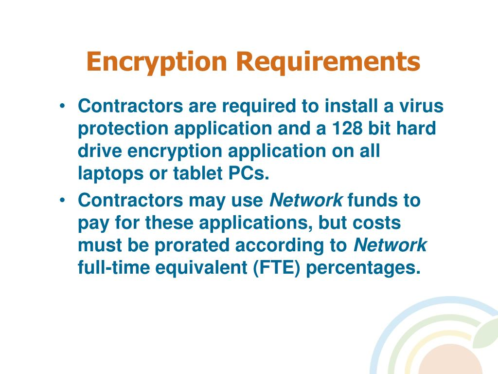 Encryption Requirements