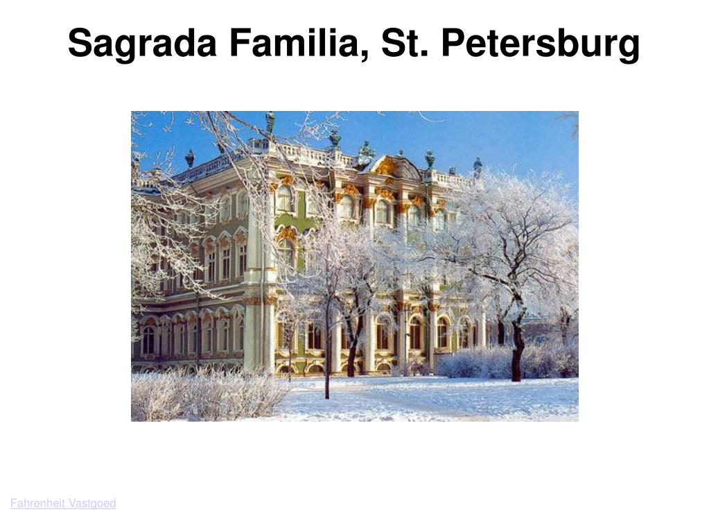 Sagrada Familia, St. Petersburg