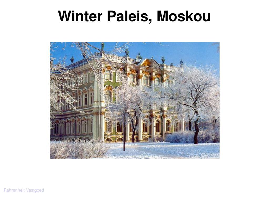 Winter Paleis, Moskou