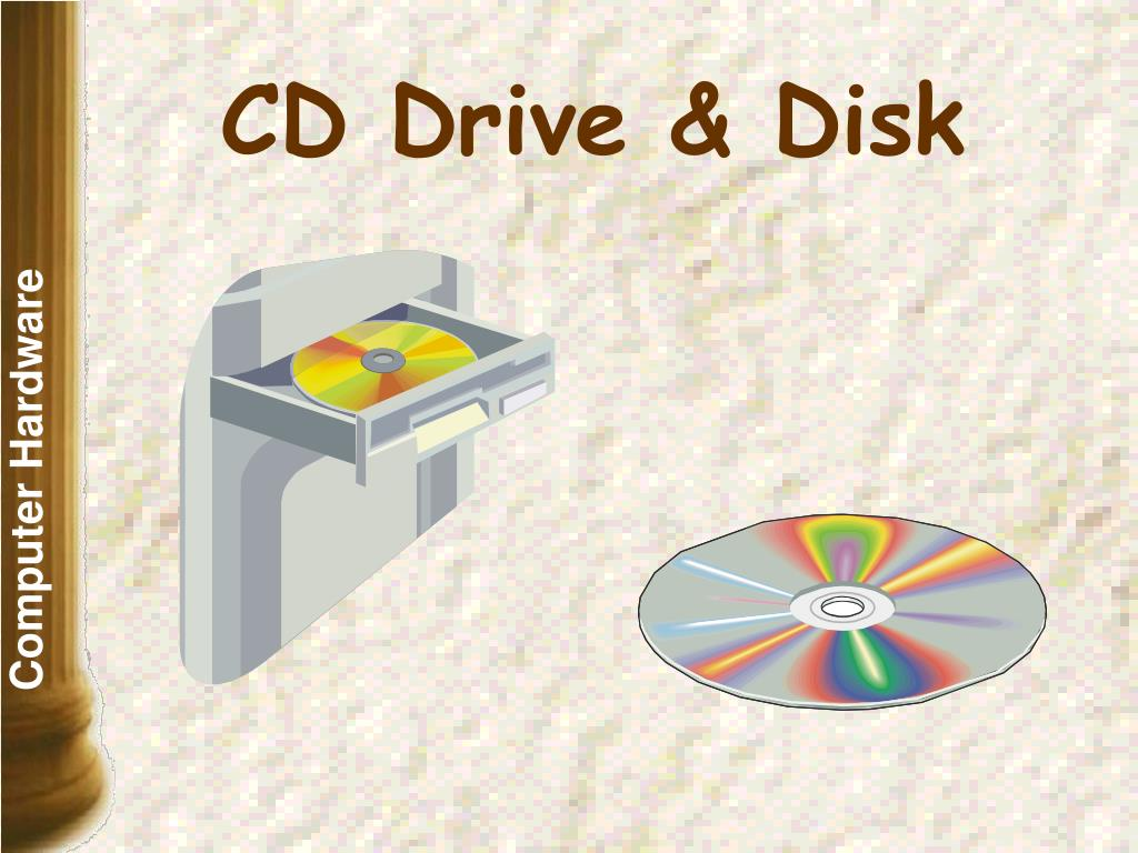 CD Drive & Disk