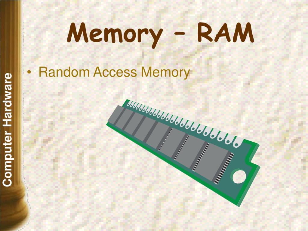Memory – RAM