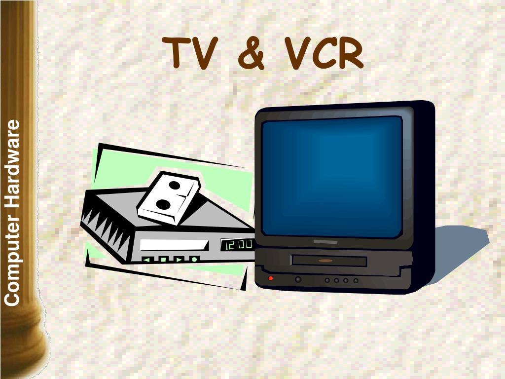 TV & VCR