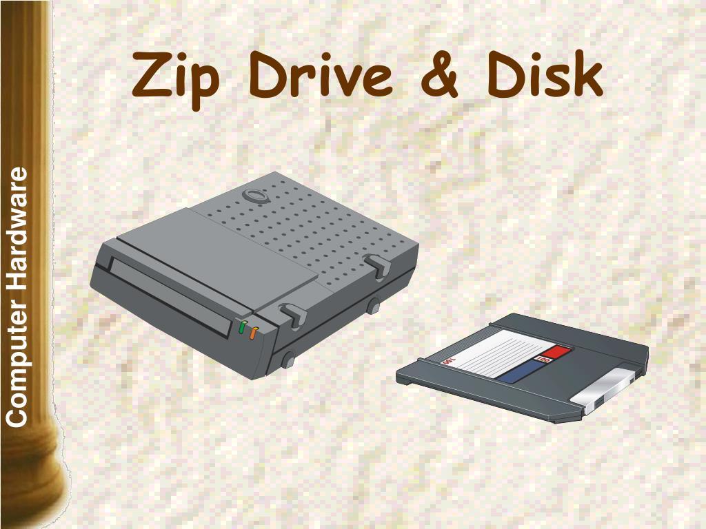 Zip Drive & Disk