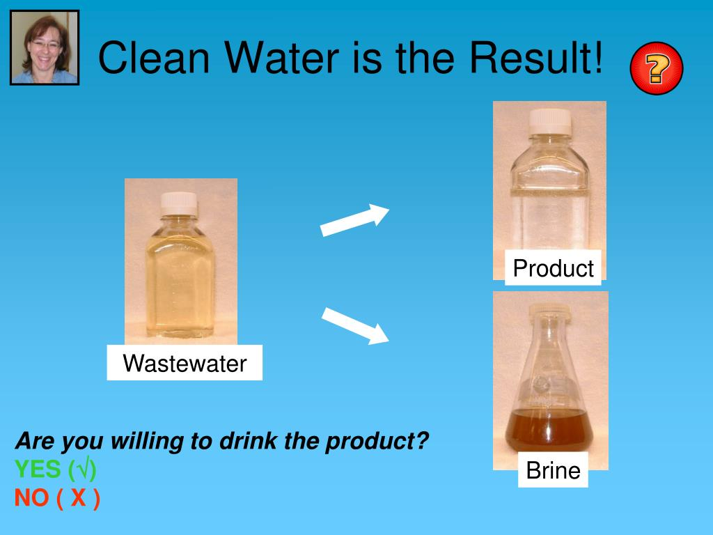 Clean Water is the Result!