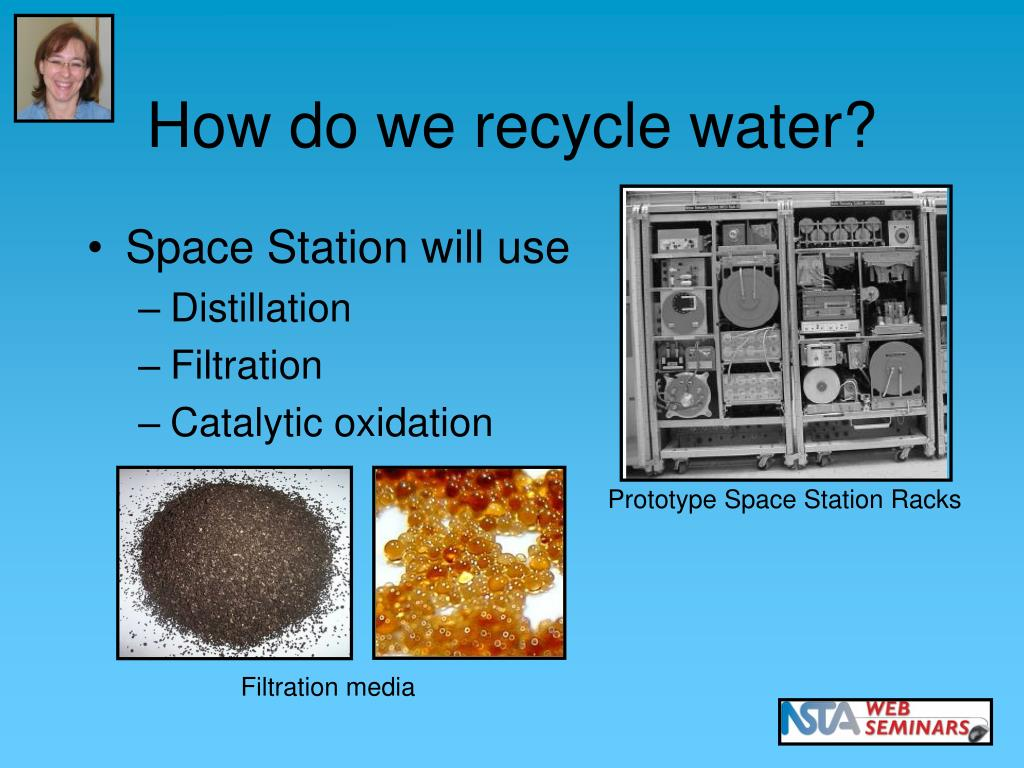 How do we recycle water?