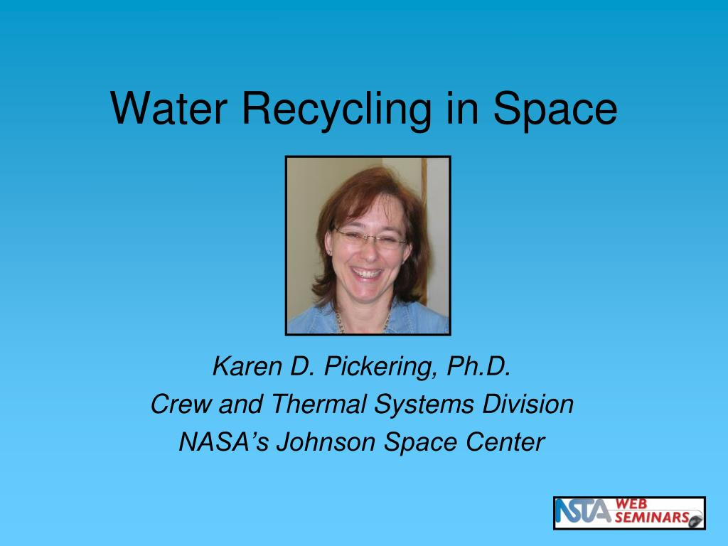 Water Recycling in Space
