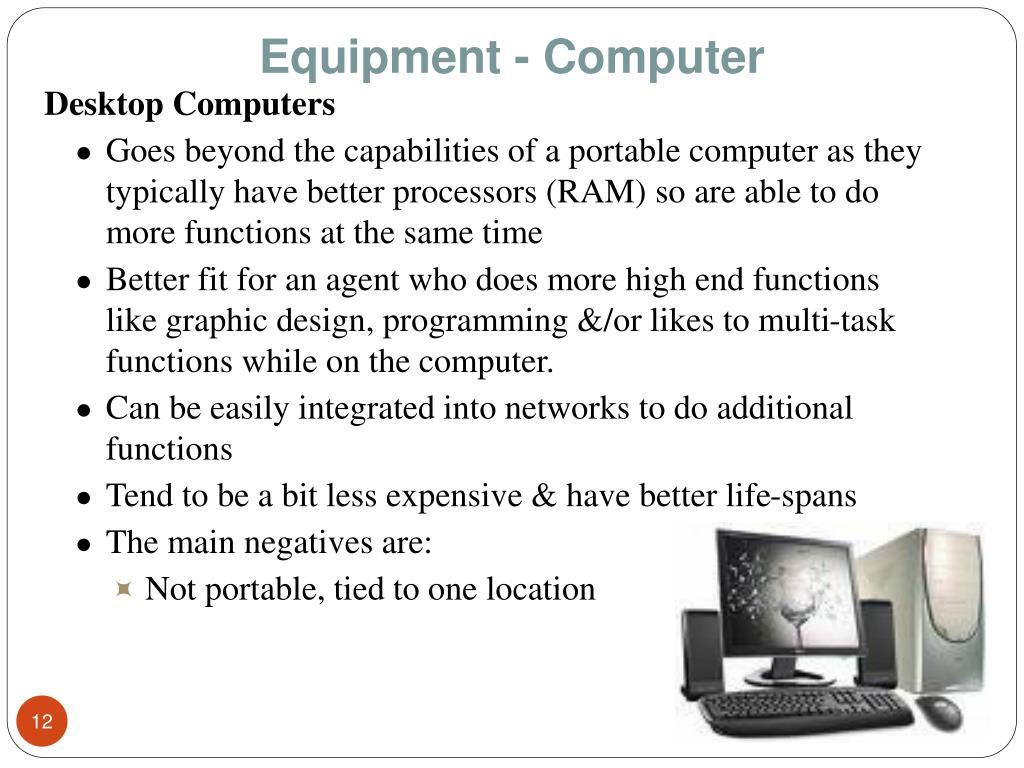 Equipment - Computer