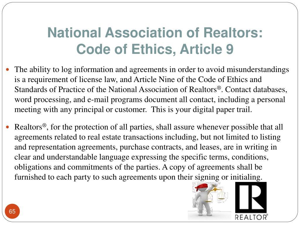 National Association of Realtors: