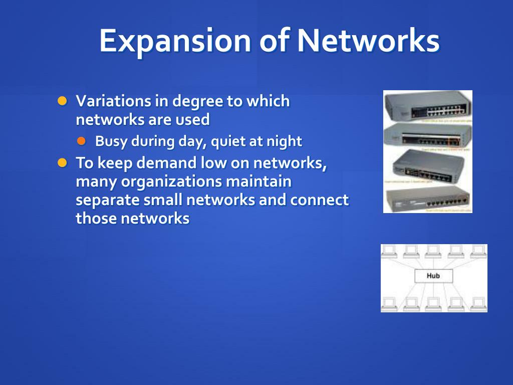 Expansion of Networks