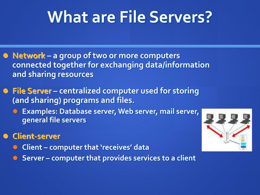 What are File Servers?
