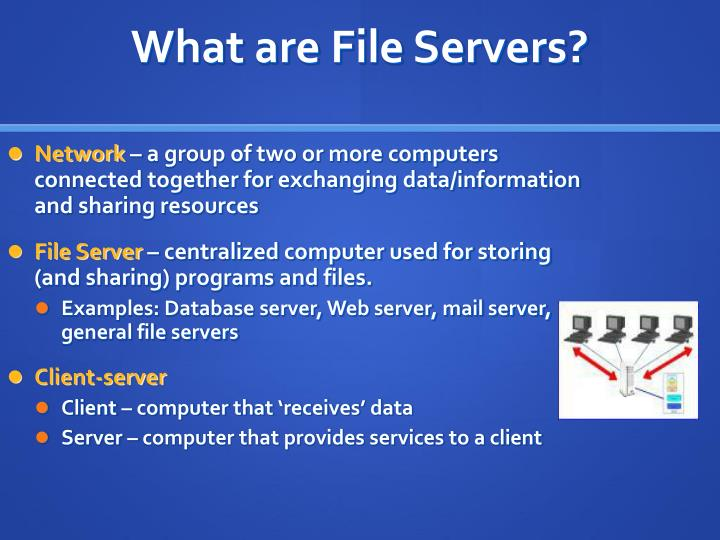 What are file servers