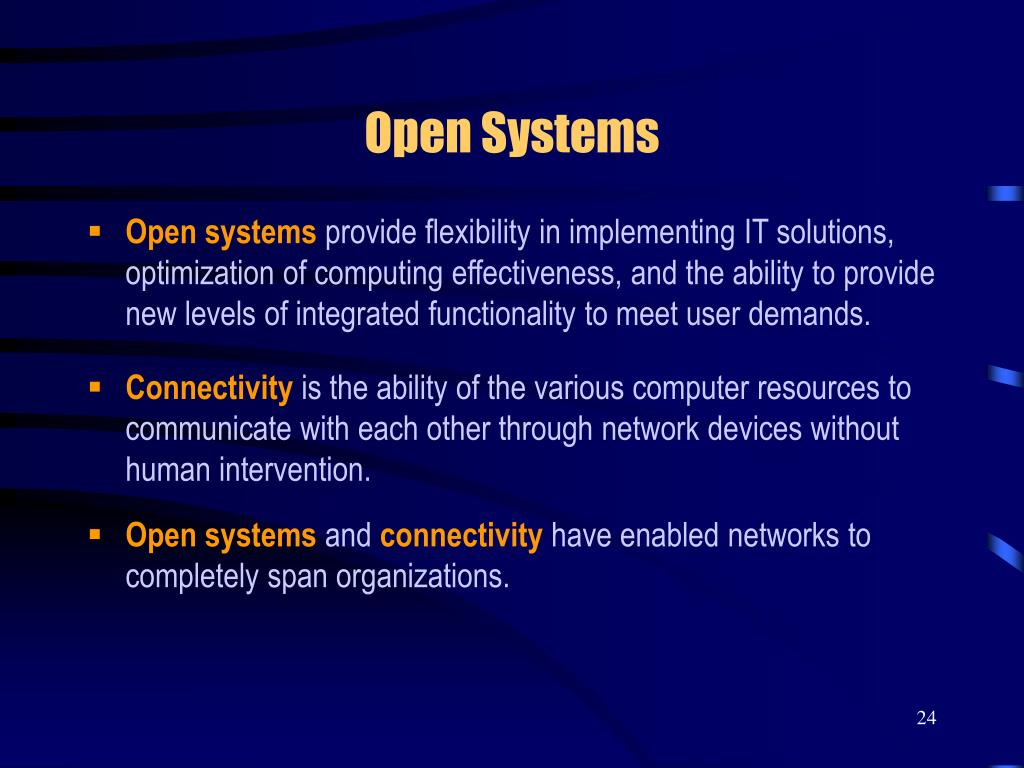 Open Systems