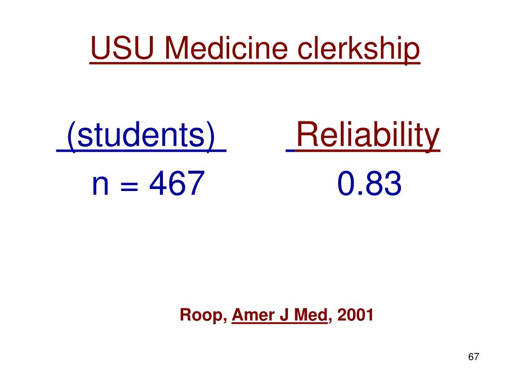 USU Medicine clerkship