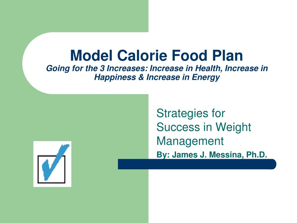 Model Calorie Food Plan